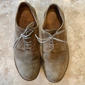 J Crew Suede Oxfords, Size 8.5 Fits 9